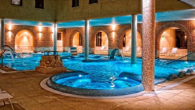 acceso a la piscina termal para 2 adultos