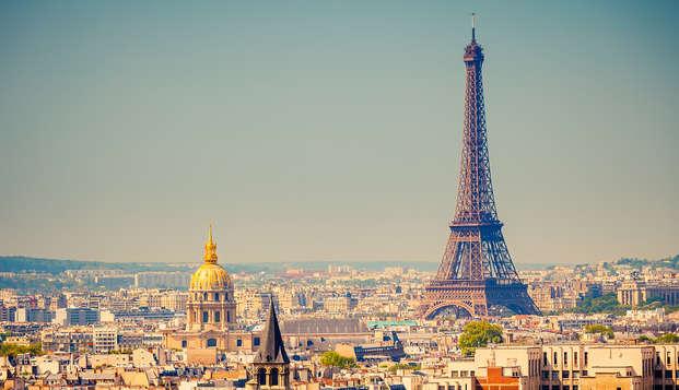 Romantisme, champagne et chocolats au pied de l'Arc de Triomphe