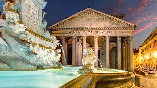 Dormi tra il Pantheon e Piazza Navona! Weekend al centro di Roma con late check-out!