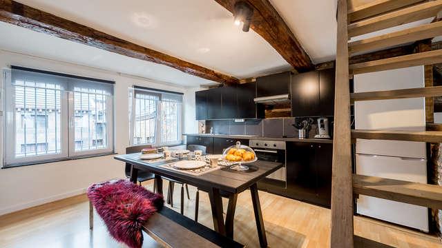 Séjour à Liège dans un appartement accueillant