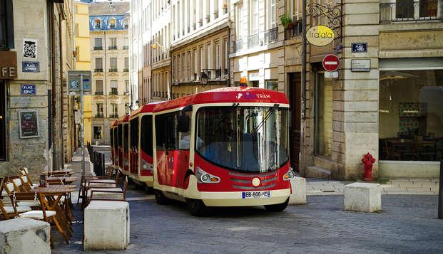 Descubre la hermosa Lyon con el trenecito