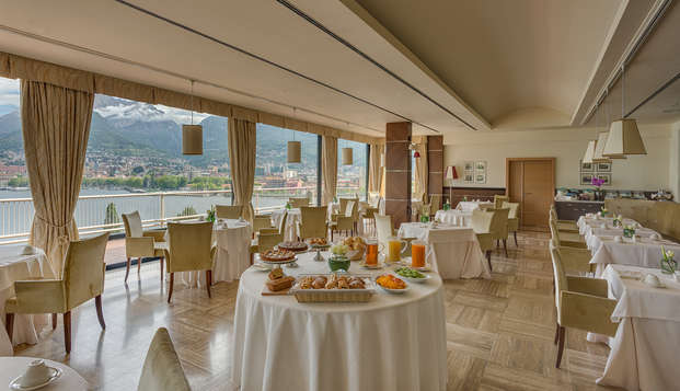 Soggiorno sul lago di Como con cena!