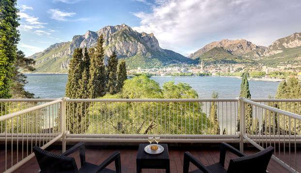Relax 4* en Malgrate con vistas al lago de Como