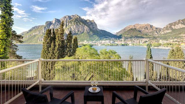 Vista stupenda sul Lago di Como in hotel 4* a Malgrate