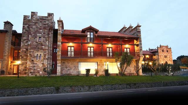 Escapada Romántica con Cena y acceso al Spa en un villa de origen medieval (desde 2 noches)