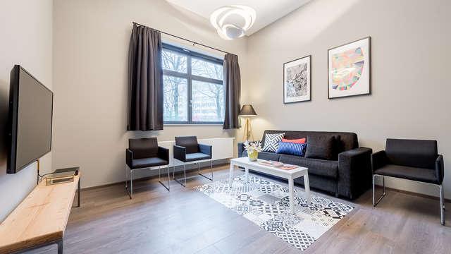 Descubre Bruselas alojándote en un apartamento en el centro (hasta 6 personas)