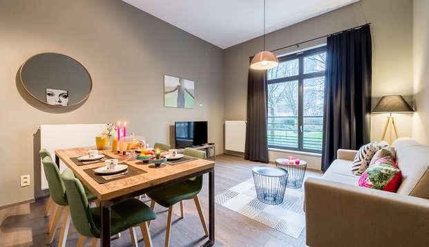 Alojamiento en un apartamento para 4 personas en el barrio europeo de Bruselas