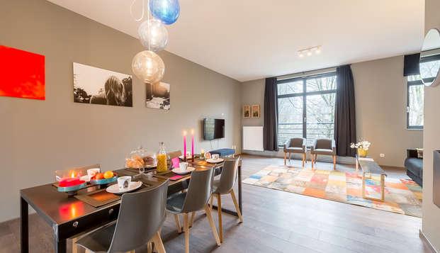 Visita Mini-Europe con alojamiento en un apartamento para 6 personas