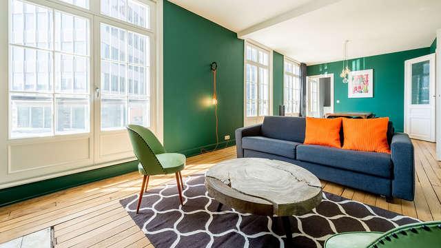 Profitez de Bruxelles en séjournant dans un appartement rétro-chic