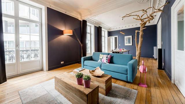 Alojamiento en un apartamento clásico y elegante en el corazón de Bruselas (hasta 6 personas)