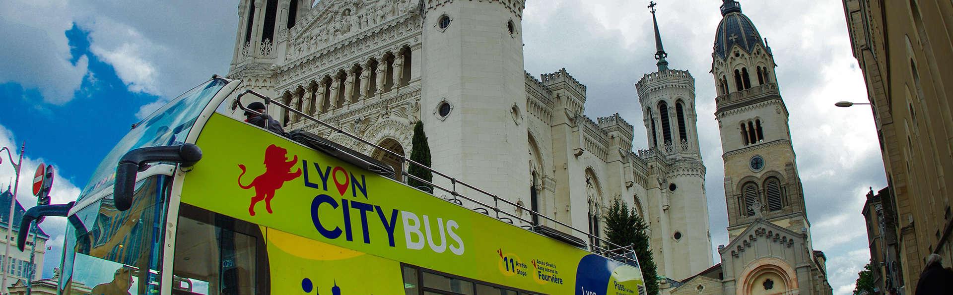 Week-end avec visite de la ville en bus, à deux pas de la place Bellecour à Lyon