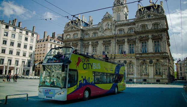 Escapade à Lyon et visite de la ville en bus !