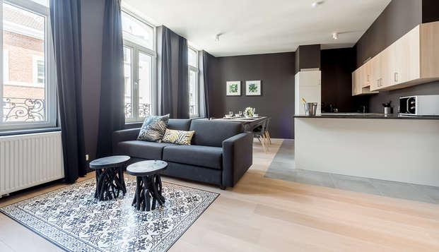 Séjournez dans un appartement moderne à Liège