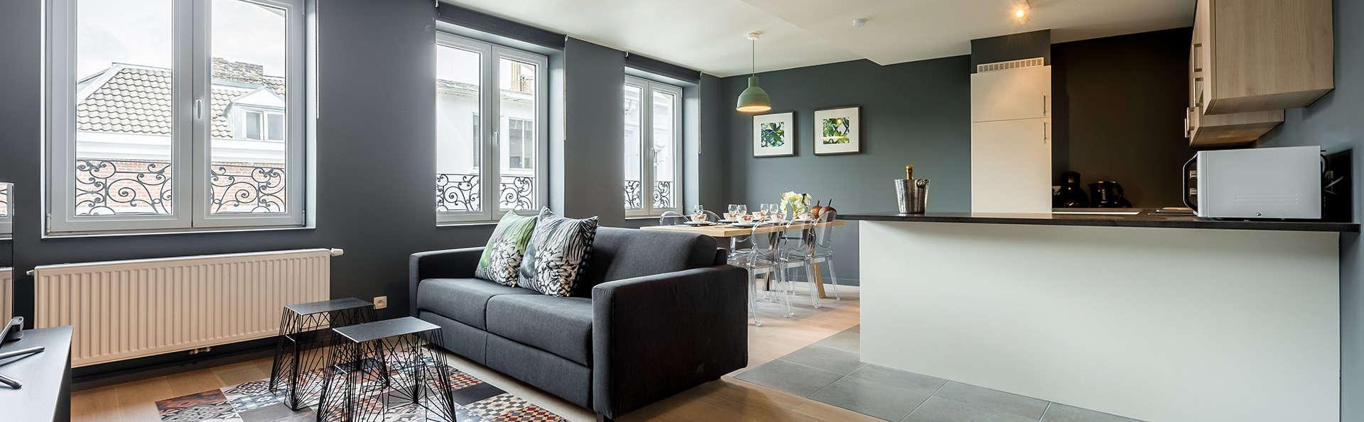 Explorez en famille Liège et le parc animalier de Forestia logés en appartement