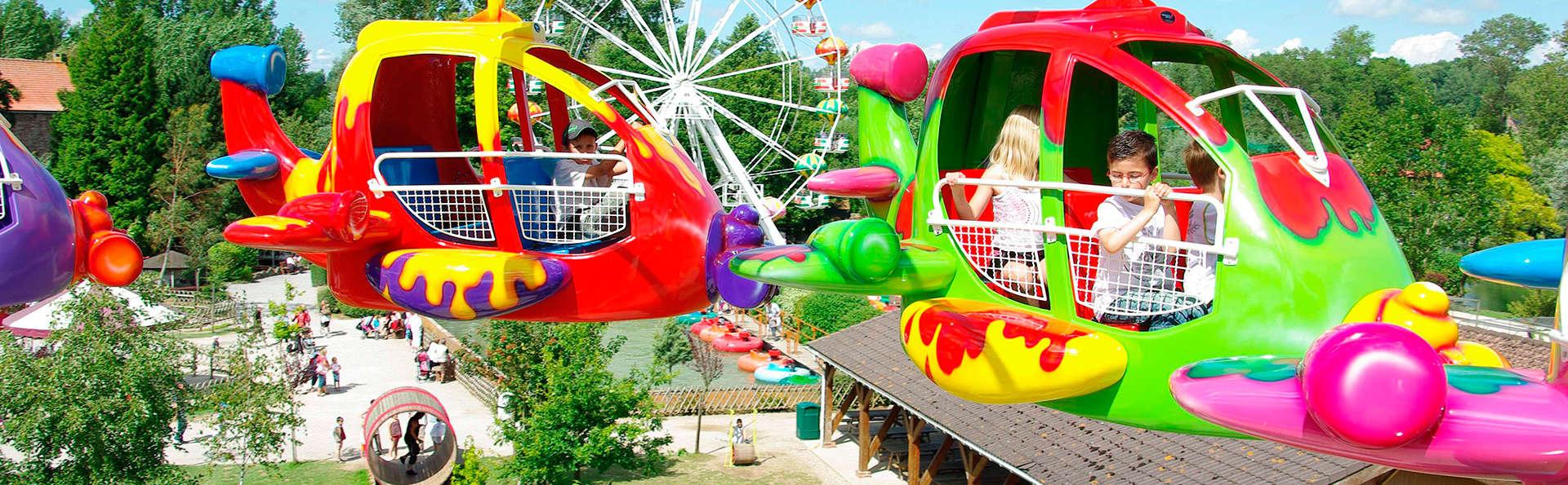 Evasion royale avec accès au parc d'attraction Dennyls Parc