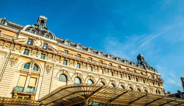 Descubre el Museo de Orsay y descansa en cerca de la Ciudad de las Luces