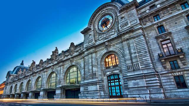 1 Billet Jumelé Musée d'Orsay et Musée de l'Orangerie pour 2 adultes