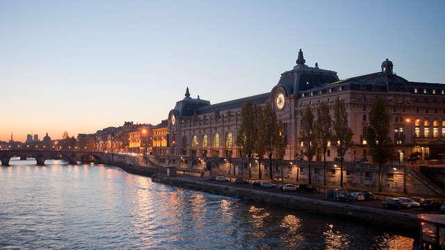 Entrée au Musée de l'Orangerie et au Musée d'Orsay et séjour 3* à Paris