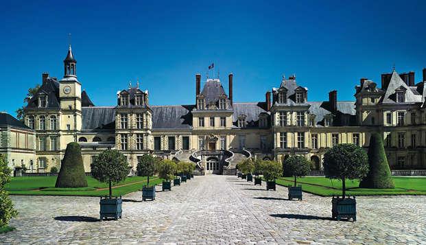 Découverte du Château de Fontainebleau et accès sauna
