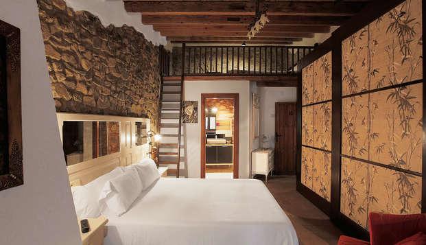 Escapada Romántica con mucho encanto en una masia catalana