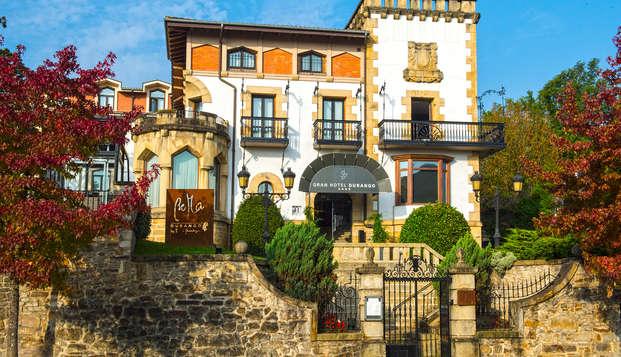 Escapada en un palacio del siglo XX a dos pasos del Parque Natural de Urquiola