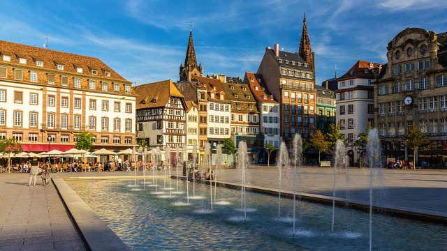 Escapade à quelques minutes du centre historique du Vieux Strasbourg