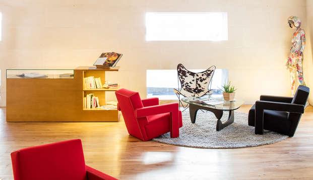 Descubre Nantes desde un hotel de diseño