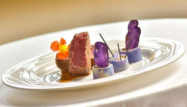 Week-end avec dîner bistronomique dans un château bourguignon