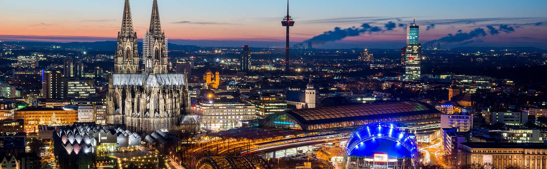 Visitez Cologne et profitez d'un accès au spa