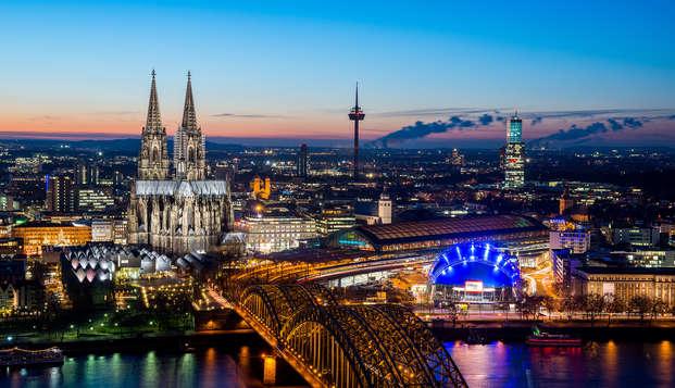 Geniet van een ontspannend weekend in Keulen met toegang tot de spa
