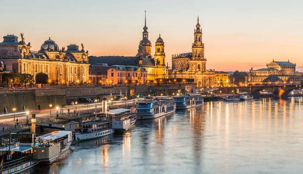 Cena a la luz de las velas con fondue de chocolate en Dresde (desde 2 noches)