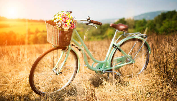 Week-end romantique en bicyclette