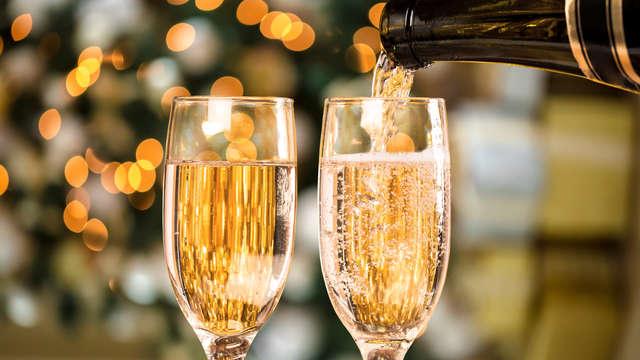 1 Botella de champán para 2 adultos