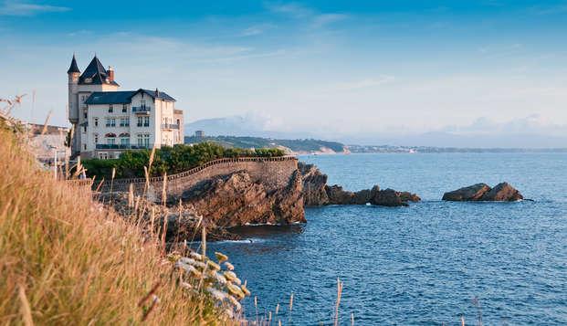 Hotel de encanto en el centro de Biarritz