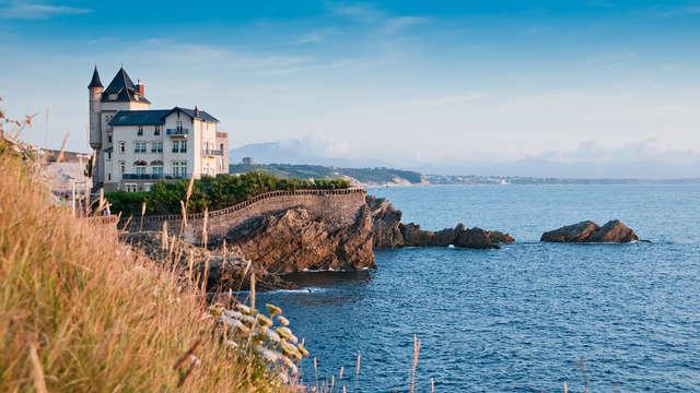 Hôtel de charme au centre de Biarritz