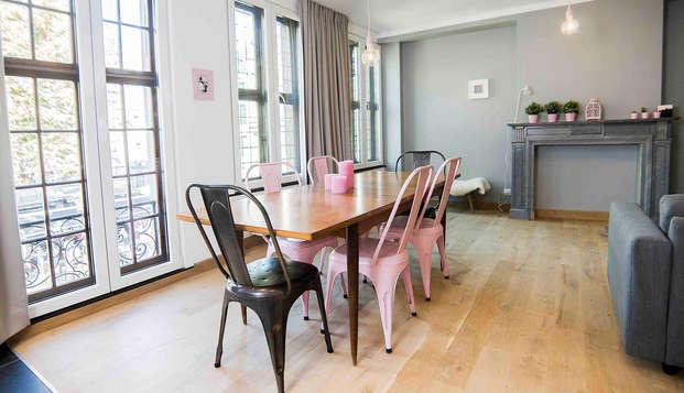 Escapade citadine à Liège dans un appartement pour 6 personnes