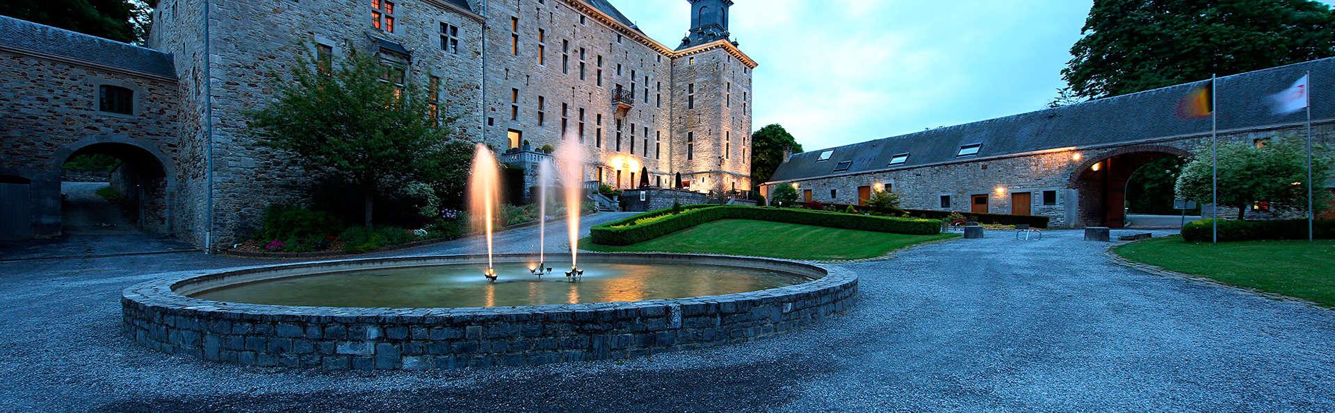 Romantisch weekend met diner en fles cava in kasteel vlakbij Durbuy