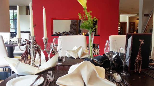 Romantiek en gastronomie in Afrikaanse sferen in het Sauerland  (vanaf 2 nachten)