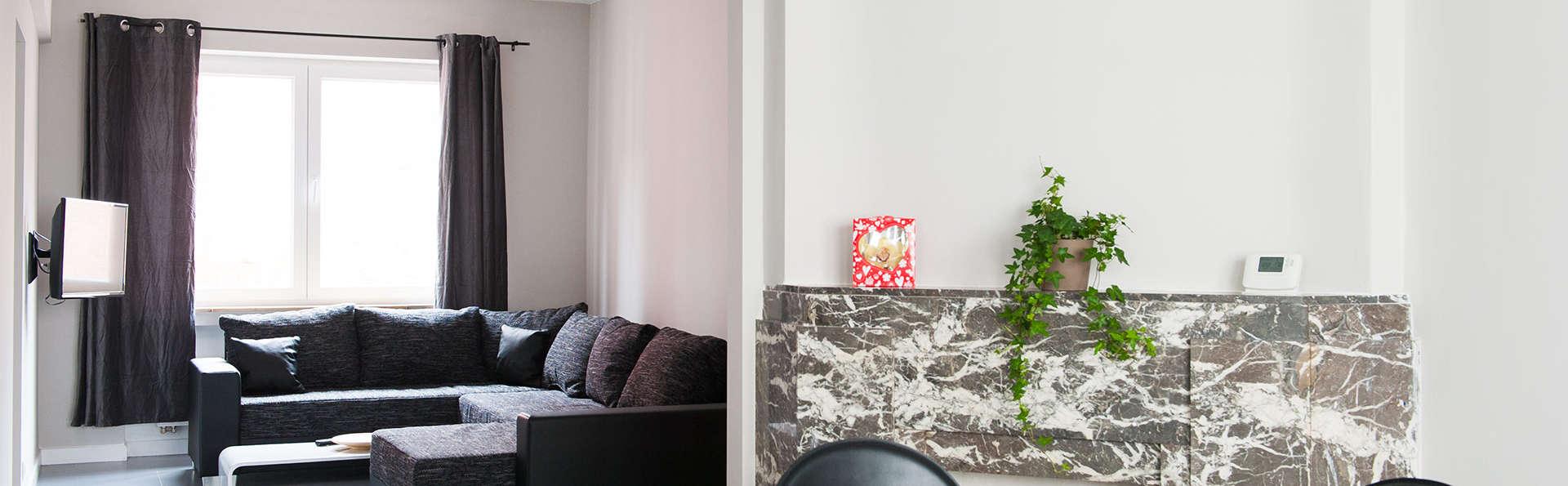 Visitez Liège en profitant d'un appartement