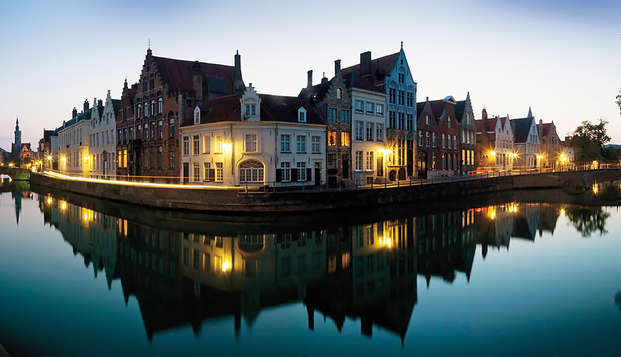 Charme et détente de luxe avec spa au coeur de Bruges