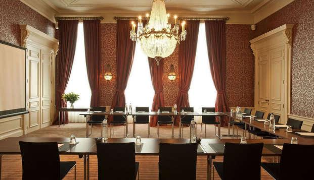 Grand Hotel Casselbergh Brugge - sala