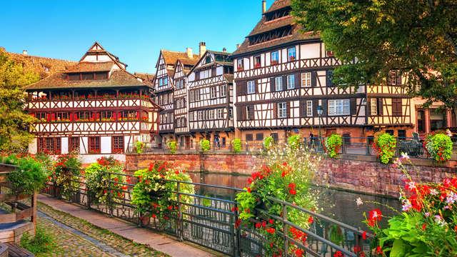 Escapade Strasbourgeoise au bord de l'Ill
