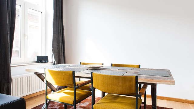 Verblijf in een modern appartement in Luik