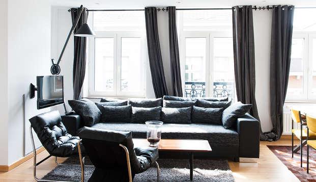 Escapade citadine à Liège dans un appartement