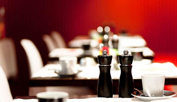 Diner, wellness en design in Blankenberge