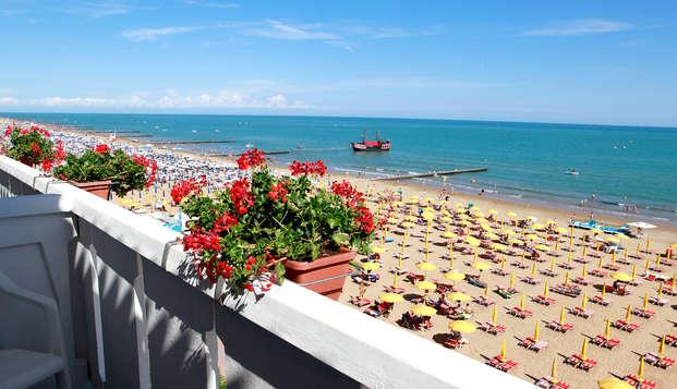 A dos pasos del mar en un hotel de encanto en Lido di Jesolo