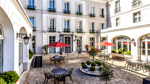 Luxe in een 15e-eeuwse woning in Fontainebleau