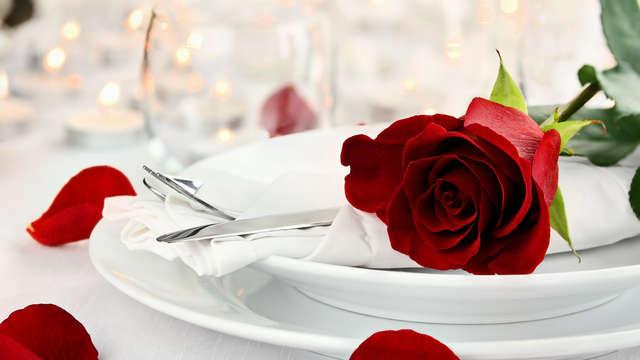 cena de San Valentin para 2 adultos