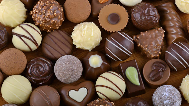 Doosje chocolade