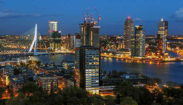 Luxe citytrip op korte afstand van het bruisende Rotterdam